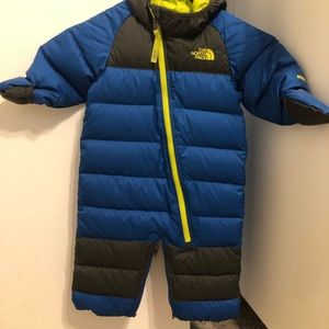 Northface baby bunting 3-6 months